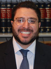 Picture of Attorney Brandon W. Rothstein, Esq., personal injury lawyer, handles professional malpractice and corporate & complex commercial disputes.